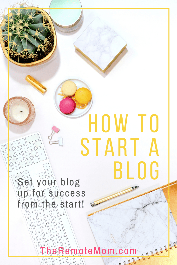 Start a Successful Blog from the Start