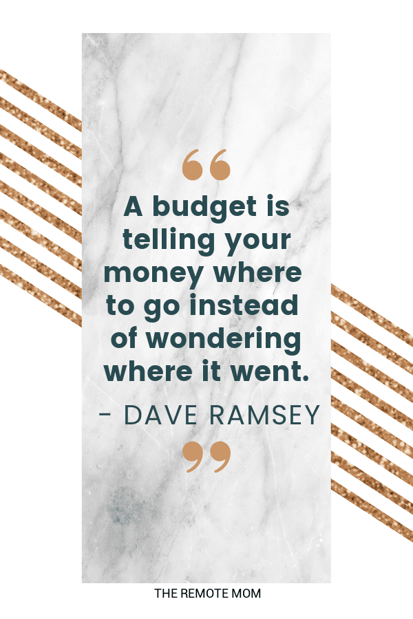 Dave Ramsey Tips and Quotes to Pay off your Debt
